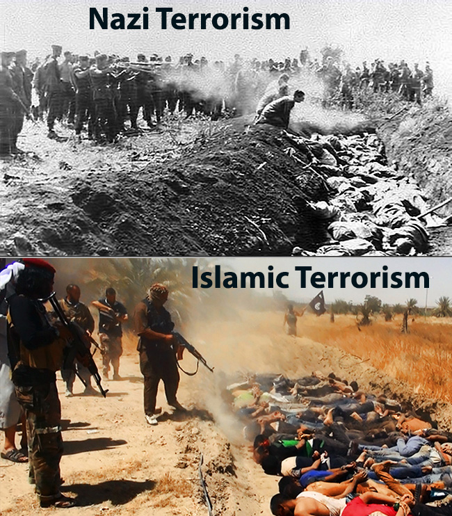 Nazi vs Islamic Terrorism