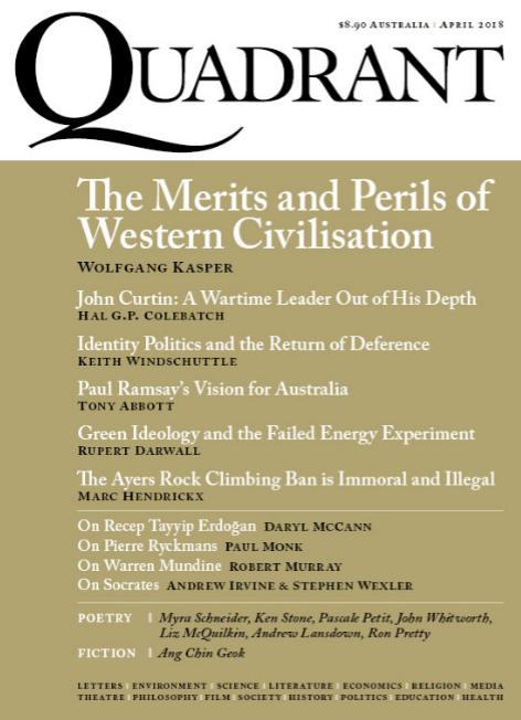 Quadrant Magazine April 2018
